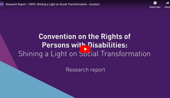 Rights for people with disabilities – a history